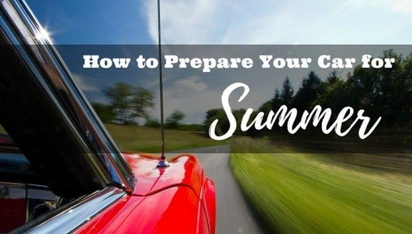 car maintenance tips for summer
