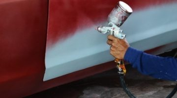 canterbury spray painting services