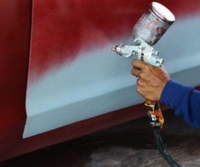canterbury spray painting services